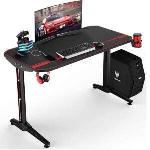 Best Gaming Desk Options: VIT 44 Inch Ergonomic Gaming Desk