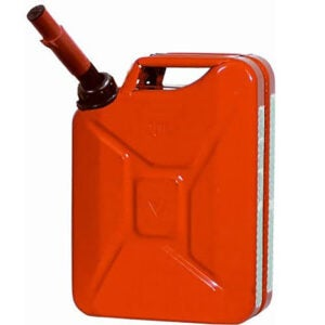 Best Gas Can Options: Midwest 5 Gallon Metal Jerry Gas Can