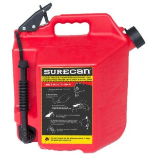 Best Gas Can Options: SureCan Easy Pour Rotating Nozzle 5