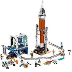 Best Lego Sets Options: LEGO City Space Deep Space Rocket and Launch Control 60228