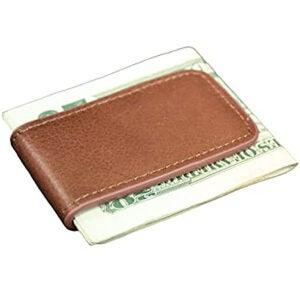 Best Money Clip Options: Genuine Leather Magnetic Money Clip