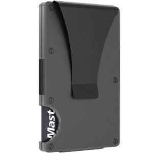 Lightweight Strong Carbon Fiber Money Clip w// Front Pocket Wallet