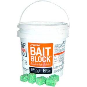 Best Mouse Poison Options: JT Eaton 166004 709-PN Bait Block Rodenticide Anticoagulant Bait
