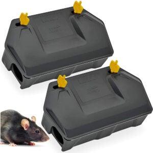 Best Mouse Poison Options: Rat Bait Station 2 Pack