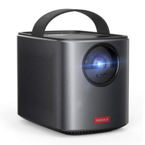 Best Outdoor Projector Options: Nebula by Anker Mars II Pro 500 ANSI Lumen Portable Projector