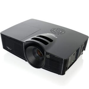 Best Outdoor Projector Options: Optoma HD141X 1080p 3D DLP Home Theater Projector