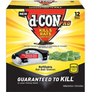 Best Rat Trap Options: D-con Rat Poison Bait Station