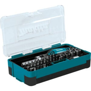 Best Ratcheting Screwdriver Options: Makita B-50289 Ratchet and Bit Set
