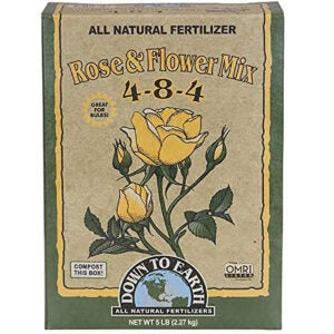 Best Rose Fertilizer Options: Down to Earth Organic Rose & Flower