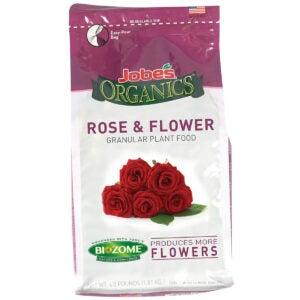 Best Rose Fertilizer Options: Jobe's 09423 Organics Flower & Rose