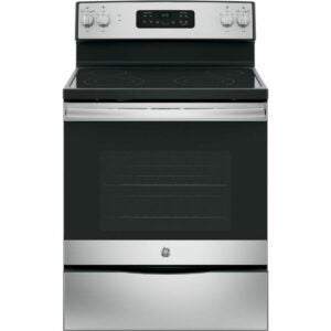 The Black Friday Appliance Deals Option: GE Electric Range with Self-Cleaning Oven