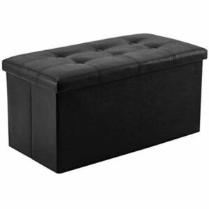 The Black Friday Furniture Option: YOUDENOVA Faux Leather Folding Storage Ottoman