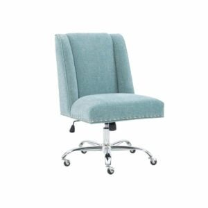 The Home Depot Black Friday Option: Linon Home Decor Draper Charcoal Microfiber Office Chair