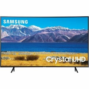 The Samsung Black Friday Option: SAMSUNG 55-inch Class Curved 4K UHD HDR Smart TV