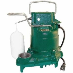The Sump Pump Option: Zoeller M53 Mighty-mate Submersible Sump Pump