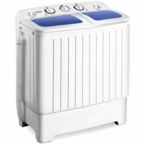 The Washer and Dryer Black Friday Option: Giantex Portable Compact Twin Tub Washing Machine
