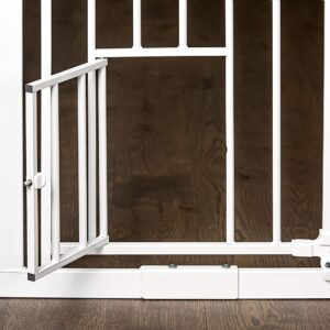 The Best Baby Gate Option: Carlson Extra Tall Walk Through Pet Gate with Door