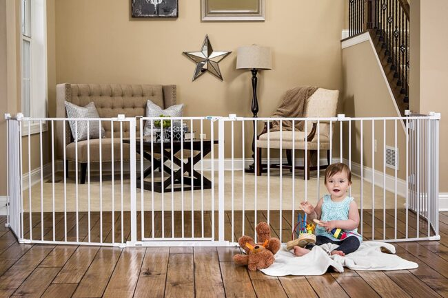 The Best Baby Gate Option