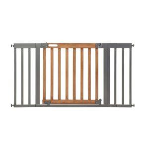 The Best Baby Gate Option: Summer West End Safety Baby Gate, Honey Oak