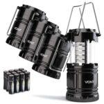 The Best Camping Gadgets Option: Vont 4 Pack LED Camping Lantern, LED Lantern