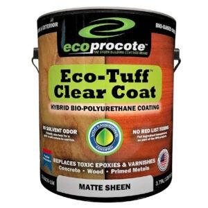 The Best Concrete Sealer Option: EcoProCote Eco-Tuff Clearcoat Concrete Sealer