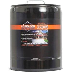 The Best Concrete Sealer Option: Foundation Armor SX5000 Water Based Concrete Sealer