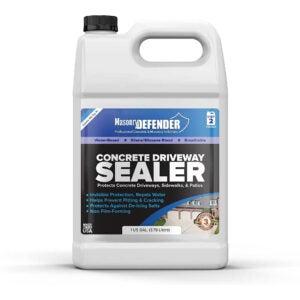 The Best Concrete Sealer Option: MasonryDefender Penetrating Concrete Sealer