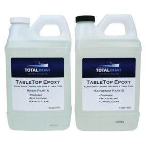 The Best Concrete Sealer Option: TotalBoat Epoxy Resin & Hardener Kit