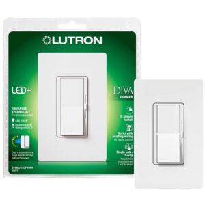 The Best Dimmer Switch Option: Lutron Diva LED+ Dimmer