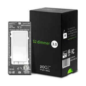 The Best Dimmer Switch Option: Zooz Z-Wave Plus S2 Wall Dimmer Switch
