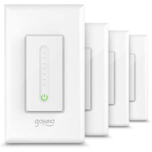 The Best Dimmer Switch Option: TanTan Gosund Smart Dimmer Switch