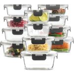 Best Glass Food Storage Containers 24piece