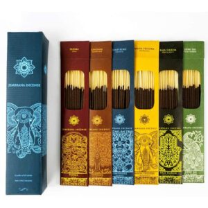 The Best Home Fragrance Option: Jembrana Incense Sticks – Mix 6 Scents from Bali Soap