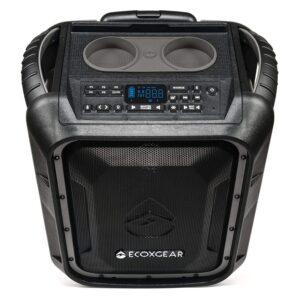 The Best Outdoor Bluetooth Speakers Option: ECOXGEAR EcoBoulder+ Waterproof Bluetooth Speaker