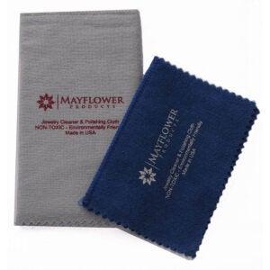The Best Silver Polish Option: Mayflower Products Polishing Cloth 2 Sizes Set
