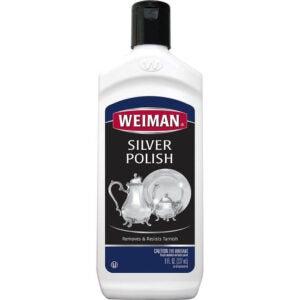 最好的银色波兰选项: Weiman Silver Polish and Cleaner - 8 Ounce