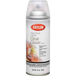 The Best Spray Paint Option: Krylon Triple Thick Clear Glaze Aerosol Spray