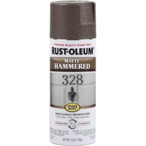 The Best Spray Paint Option: Rust-Oleum Stops Rust Hammered Finish Spray Paint