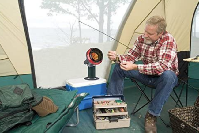 The Best Tent Heater Option