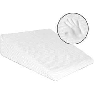The Best Wedge Pillow Option: Milliard Bed Wedge Pillow with Memory Foam Top