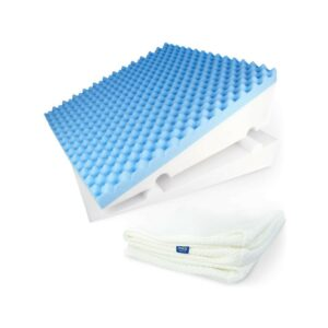 最好的楔形枕选择:Zenesse Luxcrift床楔子枕头