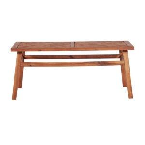 The Best Coffee Table Option: Joss & Main Skoog Wooden Coffee Table