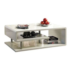 The Best Coffee Table Option: Wade Logan Luther Floor Shelf Coffee Table