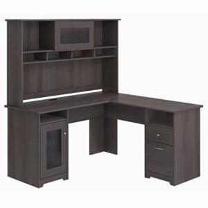 The Best L-Shaped Desk Option: Red Barrel Studio Hillsdale L-Shape Desk with Hutch