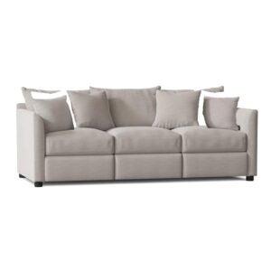 The Best Reclining Sofa Option: Wayfair Custom Georgia Reclining 85 Square Arm Sofa