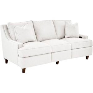 The Best Reclining Sofa Option: Wayfair Custom Logan Reclining 83 Recessed Arm Sofa