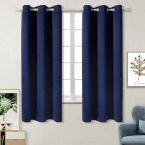 The Best Thermal Curtains Option: BGment Blackout Curtains for Bedroom