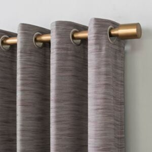 The Best Thermal Curtains Option: Guccione Textured Max Blackout Thermal Curtain