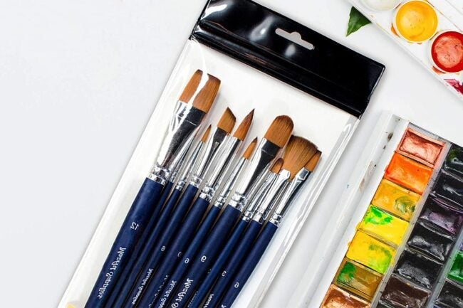 The Best Watercolor Brushes Options