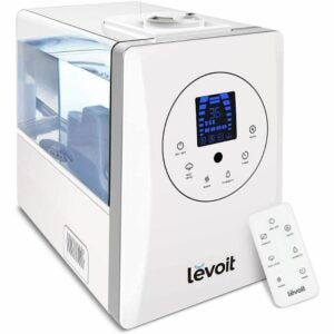 最好的凉爽雾加湿器选项:大房间Levoit加湿器